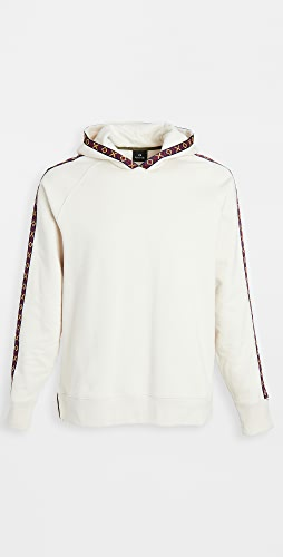 PS Paul Smith - Regular Fit Piping Detail Hoodie