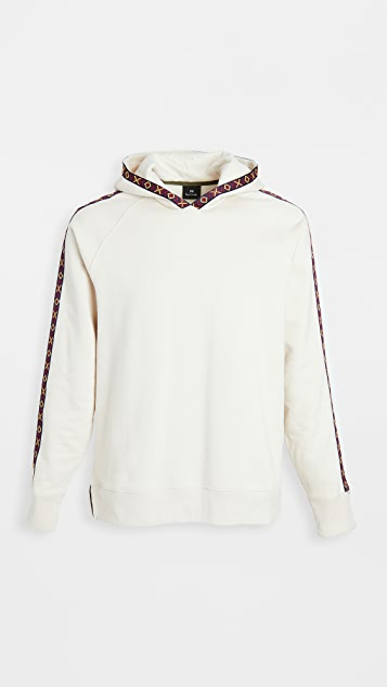 PS Paul Smith Regular Fit Piping Detail Hoodie