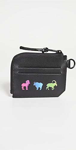 PS Paul Smith - Rainbow Animal Zip Change Pouch