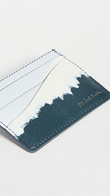 PS Paul Smith Tie Dye Card Case