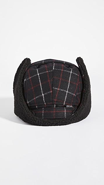 PS Paul Smith Checked Trapper Hat