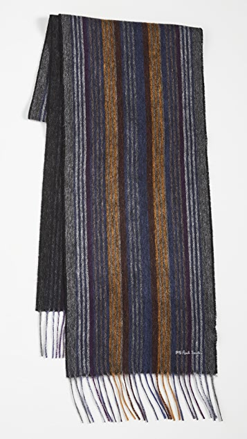 PS Paul Smith Collage Stripe Scarf
