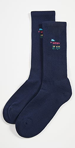 PS Paul Smith - Zebra Striped Socks
