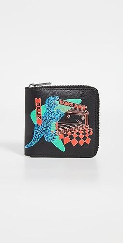 PS Paul Smith - Zip Around Dino Wallet