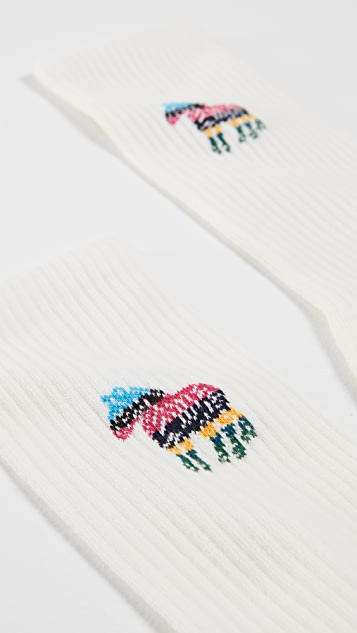 PS Paul Smith Zebra Socks