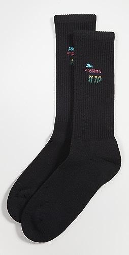 PS Paul Smith - Stripe Zebra Socks