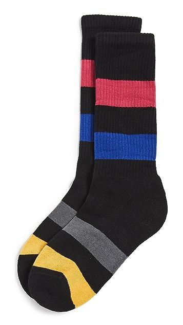 PS Paul Smith Zoom Stripe Socks
