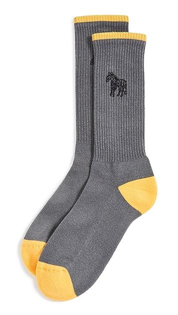 PS Paul Smith Zebra Socks