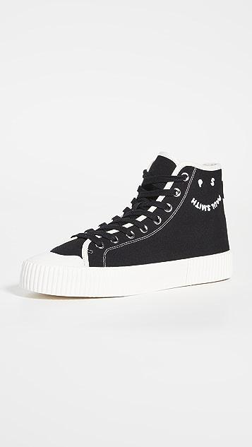 PS Paul Smith Kibby Black Sneakers