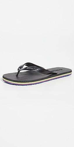 PS Paul Smith - Shoe Dale Black Flip Flops