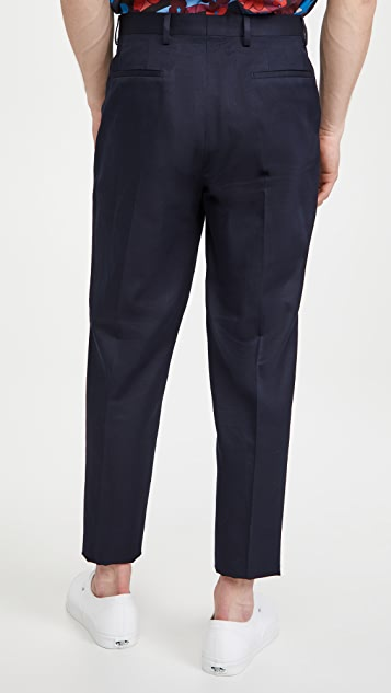 PS Paul Smith Pleat Front Trousers