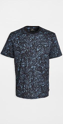 PS Paul Smith - T-Shirt Crowd Print