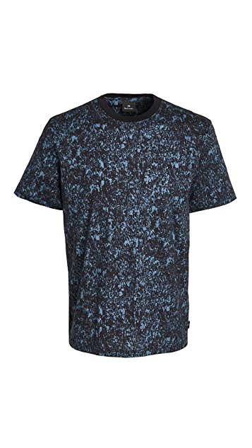 PS Paul Smith T-Shirt Crowd Print