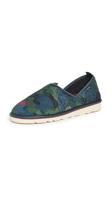 PS Paul Smith Shoe Petzel Camo Slippers