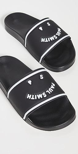 PS Paul Smith - Shoe Summit Black Sandals