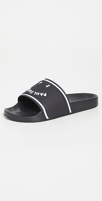 PS Paul Smith Shoe Summit Black Sandals
