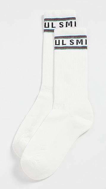 PS Paul Smith Sport Logo Crew Socks