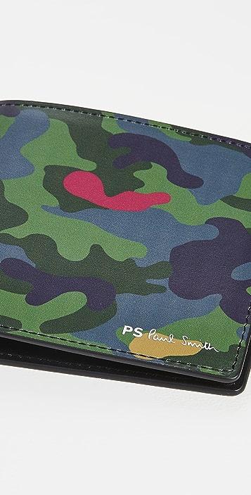 PS Paul Smith Camo Wallet