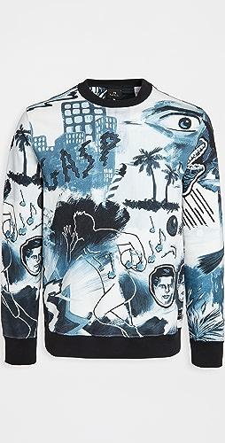 PS Paul Smith - Sweatshirt Pulp Print