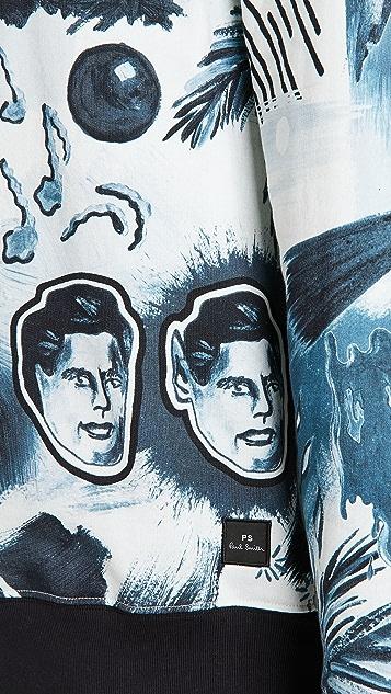PS Paul Smith Sweatshirt Pulp Print