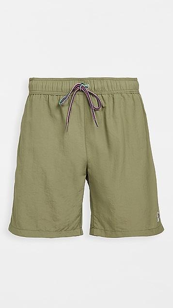 PS Paul Smith Long Zebra Shorts