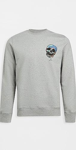 PS Paul Smith - Reg Fit Skull Sweatshirt