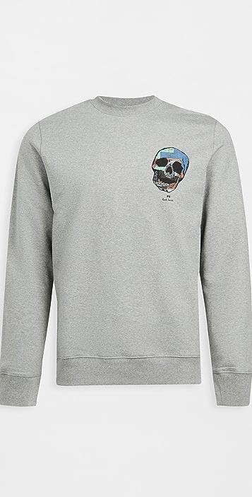 PS Paul Smith Reg Fit Skull Sweatshirt