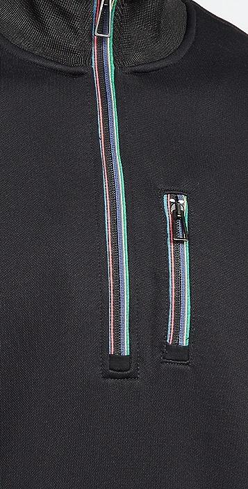 PS Paul Smith Regular Fit Zip Top