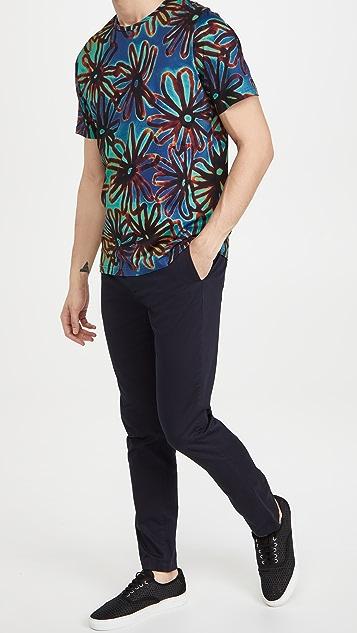 PS Paul Smith Acetate Floral T-Shirt