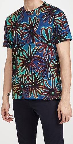 PS Paul Smith - Acetate Floral T-Shirt