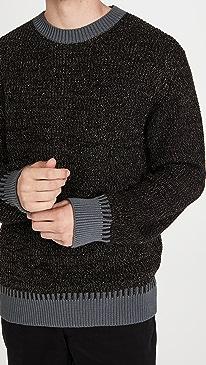PS 폴 스미스 스웨터 Paul Smith Pullover Crew Neck Sweater,Black