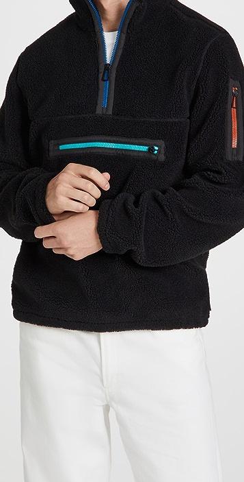 PS Paul Smith Half Zip Sweatshirt