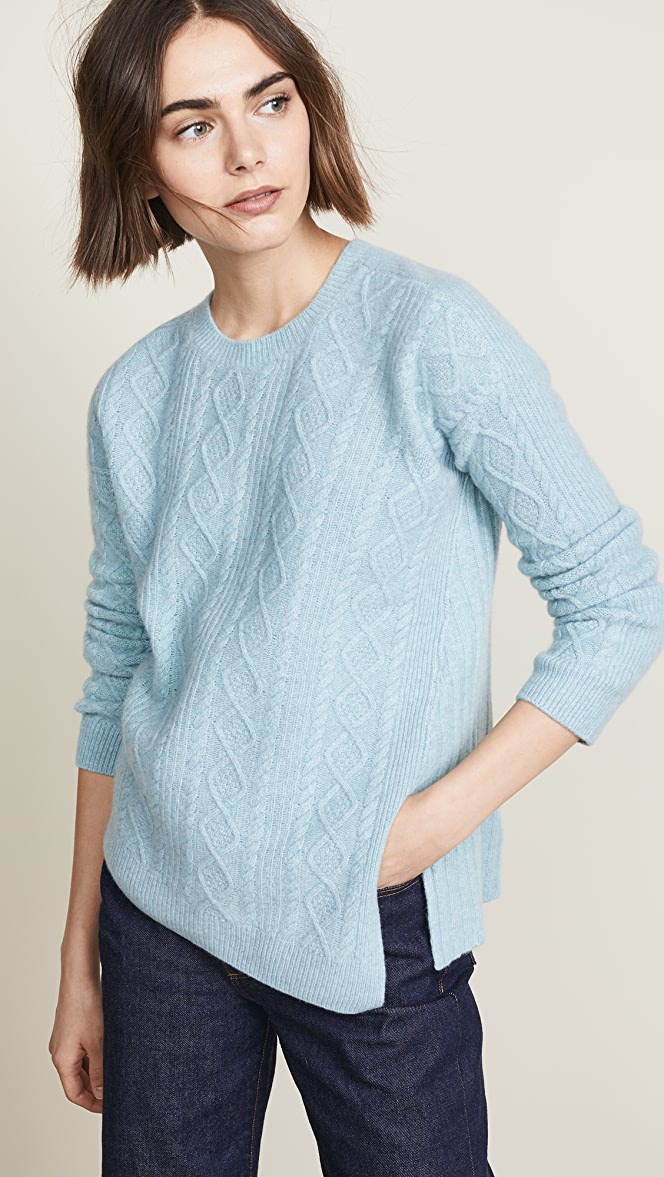 Pringle of Scotland Cable Rib Sweater | SHOPBOP