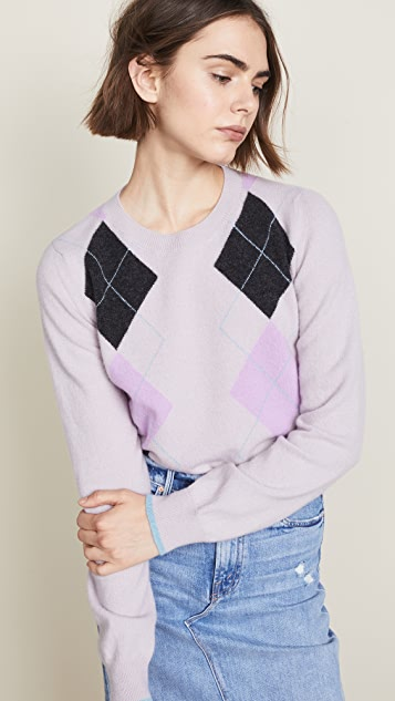 Pringle of Scotland Argyle Rib Sweater