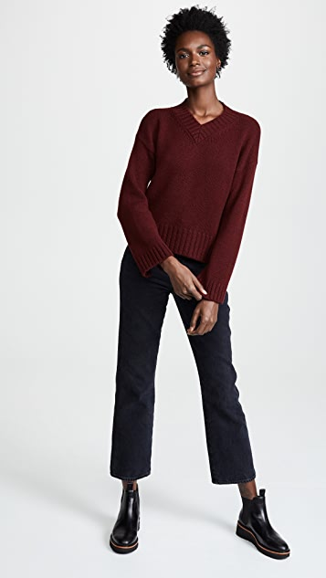 Pringle of Scotland V Neck Cashmere Sweater
