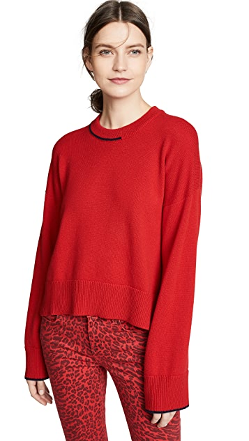Pringle of Scotland Long Sleeve Cashmere Sweater