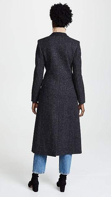 Pringle of Scotland Wool Tweed Coat