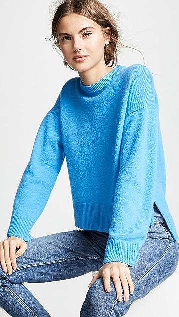 Pringle of Scotland Кашемировый свитер с округлым вырезом