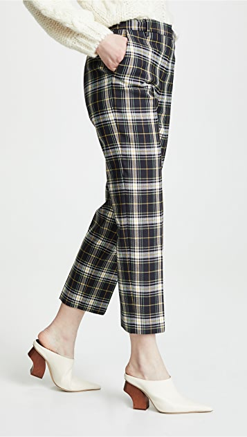 Pringle of Scotland Slim Leg Wool Trousers