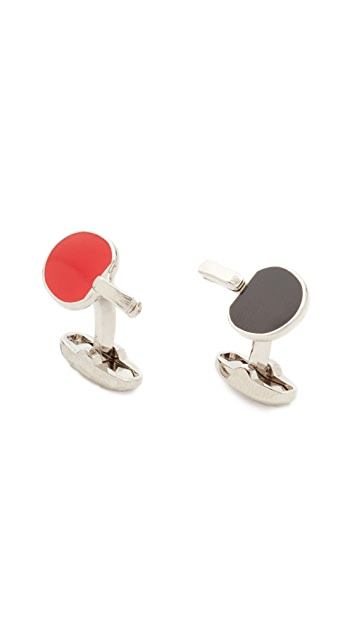 Paul Smith Table Tennis Paddle Cufflinks