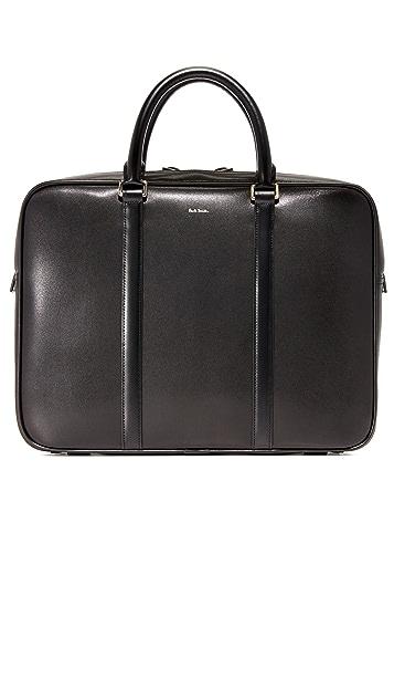 Paul Smith City Emboss Portfolio Briefcase