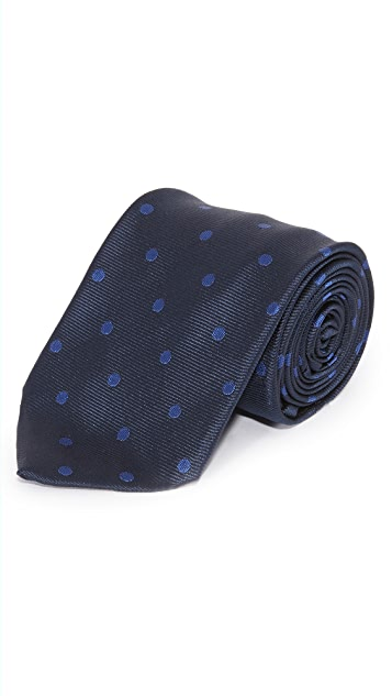 Paul Smith Slim Polka Dot Tie