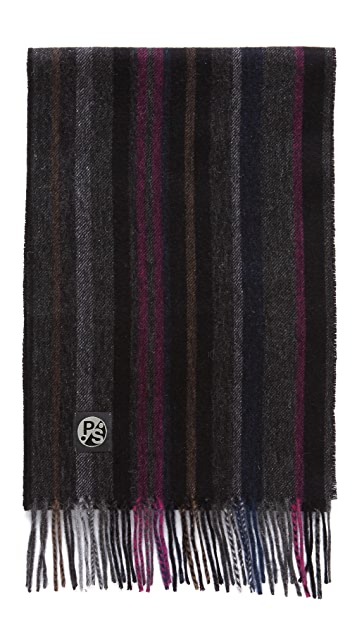 Paul Smith College Wool Scarf