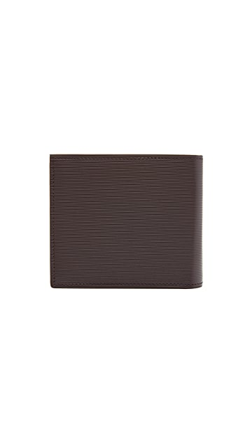 Paul Smith Stripe Embossed Billfold Wallet
