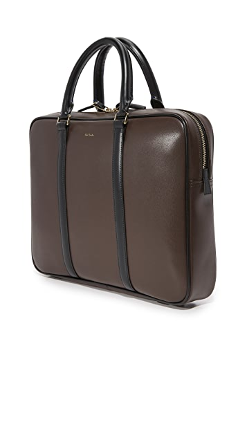 Paul Smith Chocolate Leather Portfolio