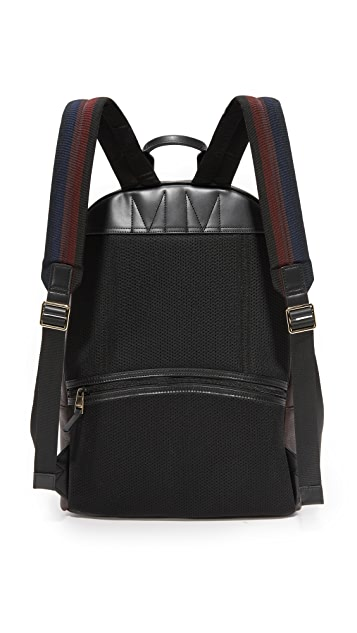 Paul Smith Chocolate Leather Backpack