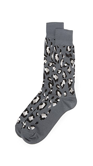 Paul Smith Camo Leopard Socks
