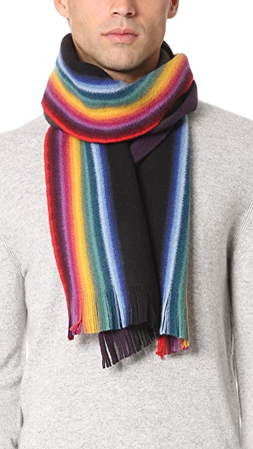 Paul Smith Reversible Multi Edge Scarf