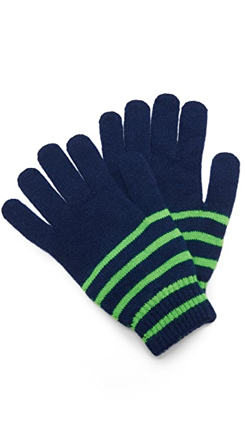 Paul Smith Neon Stripe Gloves