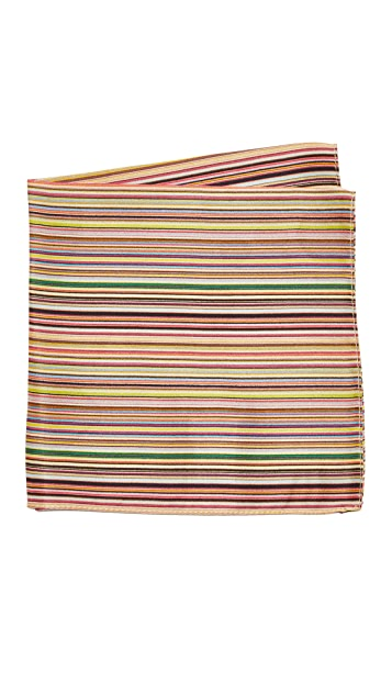 Paul Smith Multistripe Pocket Square